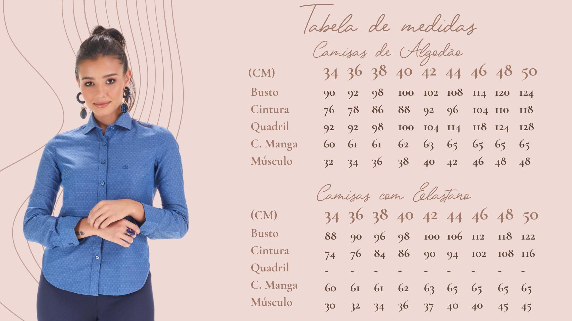 a96f41942 Camisas e Blusas Femininas Les Chemises - Confira os Modelos